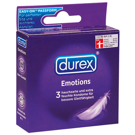 04118680000 durex emotions 3st
