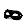 Leather Eye Mask Black